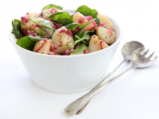 Warm Potato Pan Salad