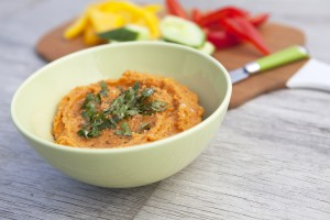 Spiced Sweet Potato Hommus