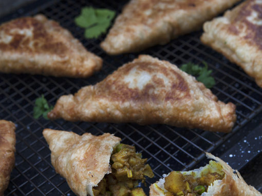 Spiced Potato Samosa